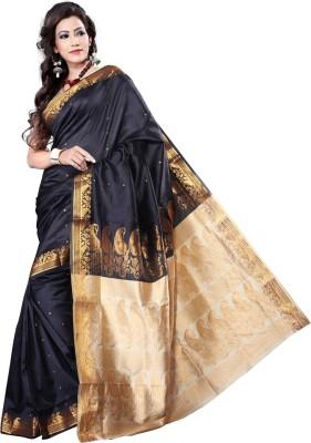 Vastrakala Self Design Banarasi Art Silk Sari