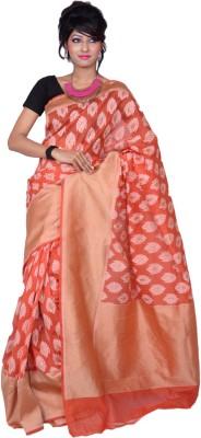 Banarasi Silk Works Embriodered Banarasi Silk Sari