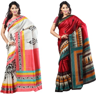 Anwesha Sarees Printed Fashion Silk Sari