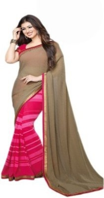 Vivels Embriodered Bollywood Georgette Sari