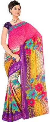 Parishi Fashion Printed Bollywood Georgette Sari
