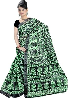 Maxusfashion Printed Mysore Handloom Brasso Sari