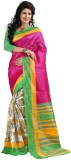 The Fancy Sarees Striped Mysore Poly Sil...