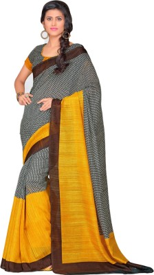 Urban Vastra Chevron Bhagalpuri Jute Sari