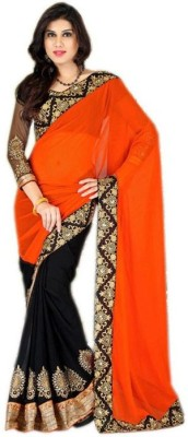 Radhe Shree Saree Embellished Bollywood Georgette Sari