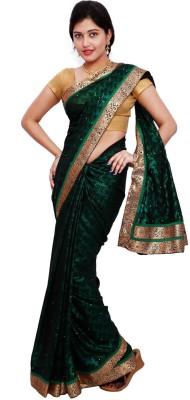 Samadhi Sarees Floral Print Fashion Georgette Sari