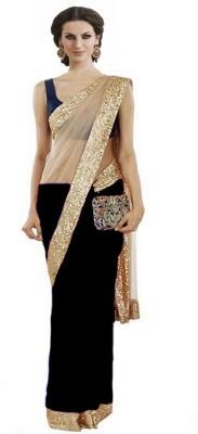 Youthmart Embriodered Fashion Handloom Georgette Sari