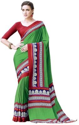 Gaurangi Creations Printed Fashion Crepe Sari