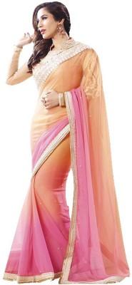 A1V Enterprise Embriodered Bollywood Pure Georgette Sari
