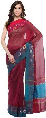 Fabroop Woven Fashion Net Sari