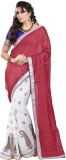 Sareeka Sarees Self Design Bollywood Cot...