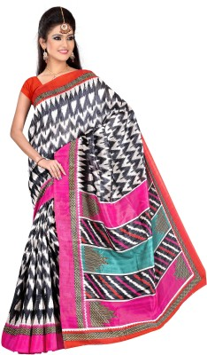 STALION CREATION Printed Bhagalpuri Kota Air Tex Blend Sari