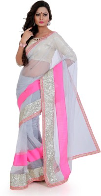 Nilkanthenterprises Self Design Bollywood Net Sari