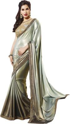 ARsalesIND Embriodered Fashion Georgette Sari