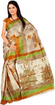 Dealtz Fashion Solid Bollywood Art Silk Sari