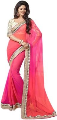 Best Collection Self Design Fashion Chiffon Sari