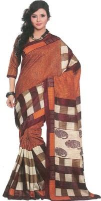 Maxusfashion Striped Fashion Cotton Sari