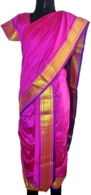My Lil Princess Embriodered Lugade Silk Cotton Blend Sari