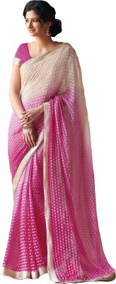 Siddhi Vinayak Embriodered Bollywood Georgette Sari