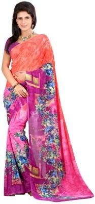 Vishnupriya Fabs Printed Fashion Georgette Sari