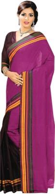 Madhevi Plain Fashion Cotton Sari