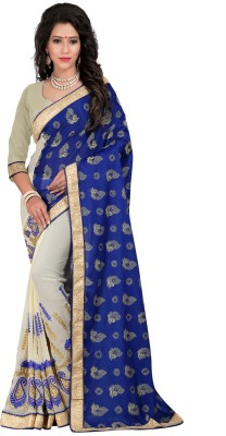 Fashiondeal Embriodered Bollywood Georgette Sari