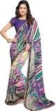 PSHOPEE Printed Fashion Chiffon Saree (P...