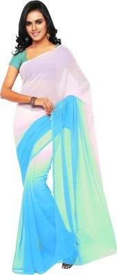 Aruna Sarees Plain Daily Wear Chiffon Sari