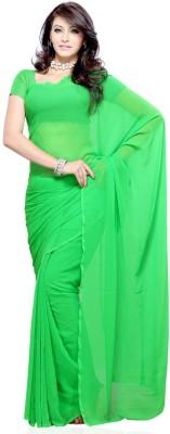 Vimla Fab Plain Fashion Pure Chiffon Sari