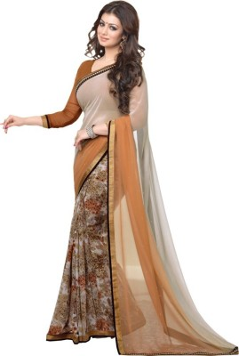 Aadinath Designer Floral Print Fashion Georgette Sari