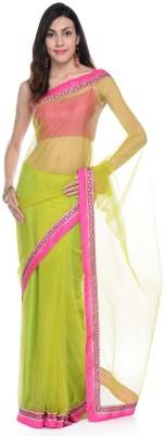 Aarohii Plain Bollywood Net Sari