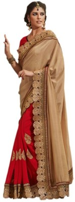 Beauty Choice Embriodered Fashion Jute Sari