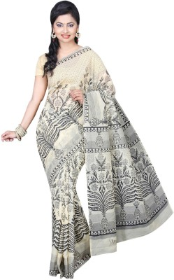 Pavechas Floral Print Gadwal Cotton Sari