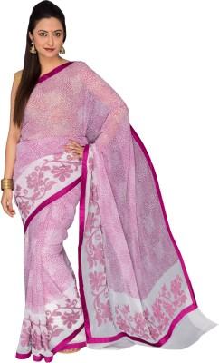 Cinnamonn Printed Fashion Chiffon Sari