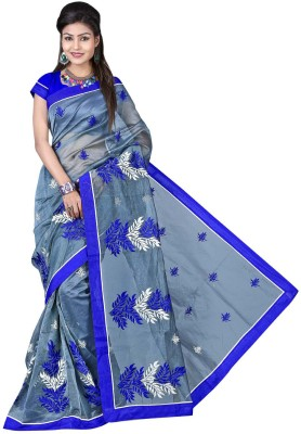 Hiba Couture Embriodered Fashion Georgette Sari