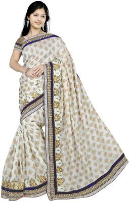 Asha Fashion Embriodered Bollywood Viscose Sari