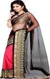 Sanju Sarees Solid Bollywood Georgette S...