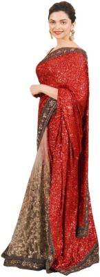 Piyani Collection Embriodered Bollywood Net Sari