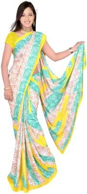Swank Printed Daily Wear Georgette Sari