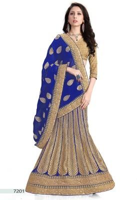 Parvati Fabrics Embriodered Fashion Viscose Sari