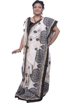 Tanjinas Paisley Fashion Silk Sari