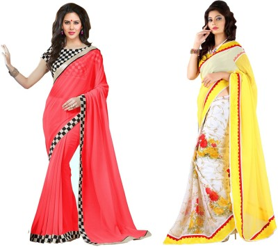 butterflysaree Printed Bollywood Georgette Sari