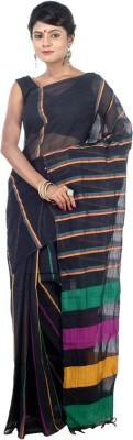 AVIK Self Design Tant Handloom Cotton Sari