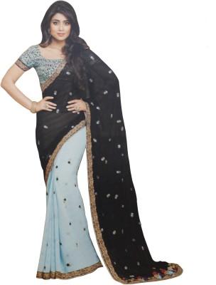 SAHAJ Embellished Fashion Chiffon Sari