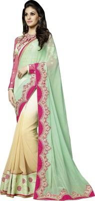 She Fashion Embriodered Fashion Georgette Sari