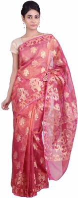 Geroo Embellished Fashion Brocade Sari