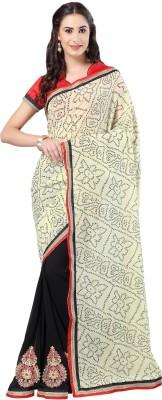 Admyrin Embriodered Bhagalpuri Georgette Sari