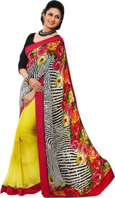 Suitsvilla Printed Fashion Georgette Sari