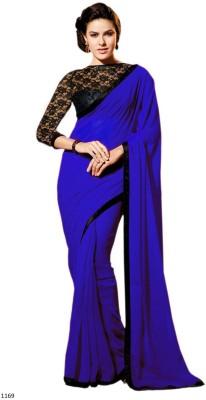 Pears Self Design Bollywood Handloom Georgette Sari