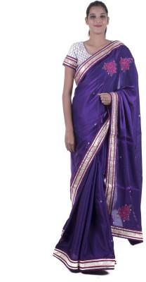 Surbhi Embriodered Fashion Mettalic Yarn Sari
